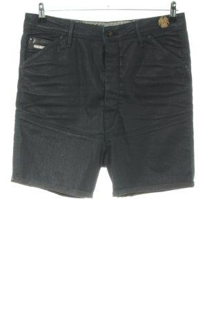 G-Star Raw High-Waist-Shorts schwarz Casual-Look