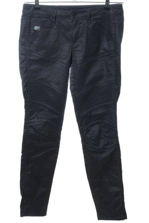 G-Star Raw pantalón de cintura baja negro look casual
