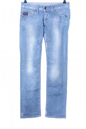 G-Star Raw Hüftjeans weiß-blau Casual-Look