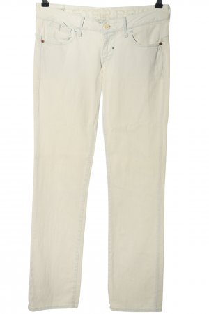 G-Star Raw Jeans taille basse blanc style décontracté