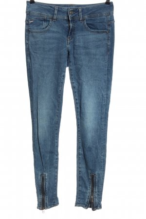 G-Star Raw Jeans vita bassa blu stile casual