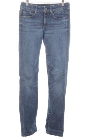 G-Star Raw Jeans vita bassa blu stile casual