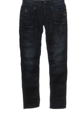 G-Star Raw Jeans taille basse bleu style décontracté