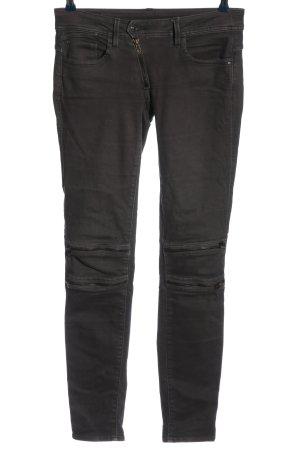 G-Star Raw Jeans vita bassa nero puntinato stile casual