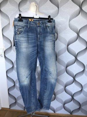 Gstar Jeans boyfriend bleu clair-bleu