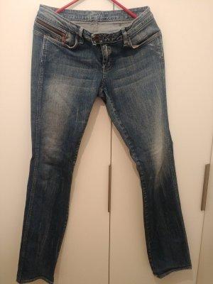 G-Star Raw Jeansy z prostymi nogawkami niebieski