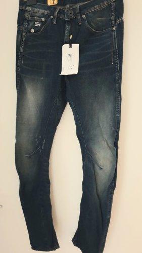 G-Star Raw Jeans Arc 3D Tapered Fit in Dunkelblau W 25 * L 34 Neu mit Etikett