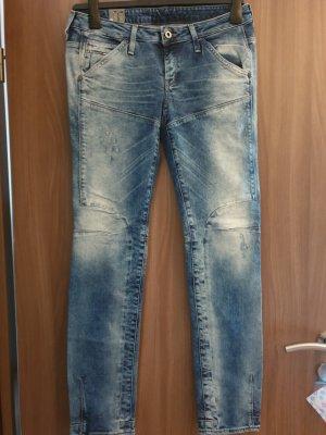 G-Star Raw Dopasowane jeansy niebieski