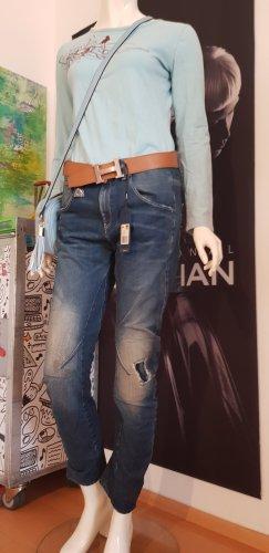 G-Star Raw Jeansy z wysokim stanem jasnoniebieski-ciemnoniebieski
