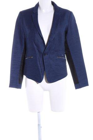 G-Star Raw Jeansblazer blau-schwarz meliert Business-Look