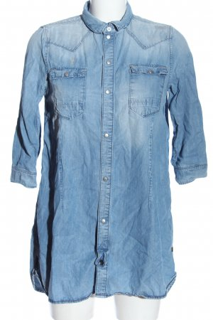 G-Star Raw Jeanshemd blau Casual-Look