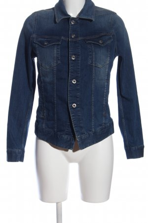 G-Star Raw Jeansjacke blau Casual-Look