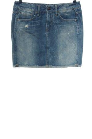 G-Star Raw Jupe en jeans bleu style mode des rues