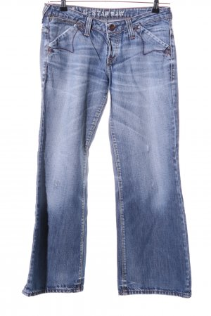 G-Star Raw Jeans flare bleu style décontracté