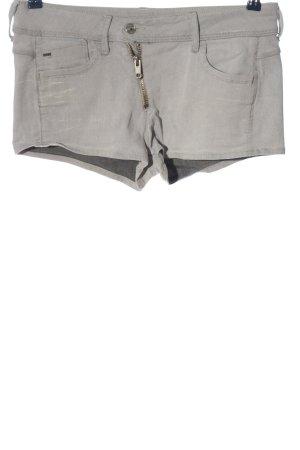 G-Star Raw Pantalón corto de tela vaquera gris claro look casual