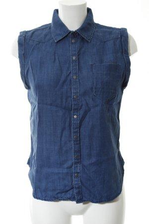 G-Star Raw Jeansweste blau Casual-Look