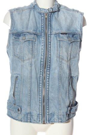G-Star Raw Denim Vest blue casual look