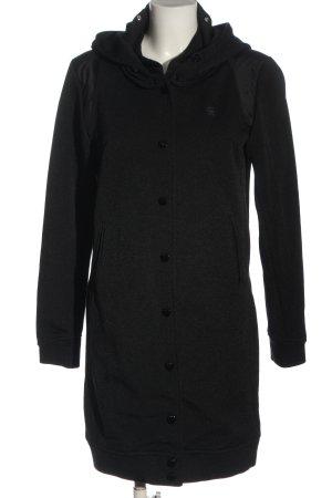 G-Star Raw Cappotto con cappuccio nero stile casual