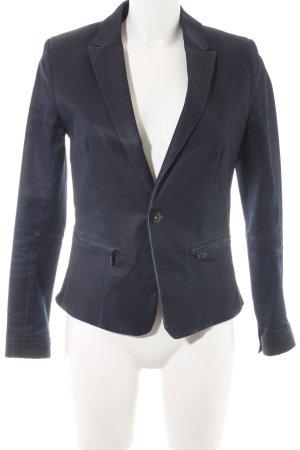 G-Star Raw Kurz-Blazer dunkelblau-schwarz Casual-Look
