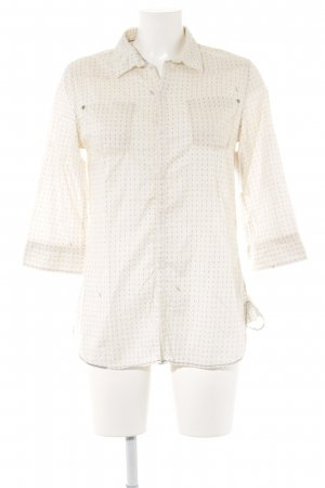 G-Star Raw Kurzarm-Bluse abstraktes Muster Casual-Look