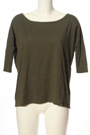 G-Star Raw Langarm-Bluse khaki Casual-Look