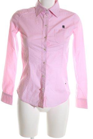 G-Star Raw Langarmhemd pink Business-Look