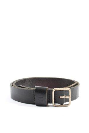G-Star Raw Cintura di pelle nero stile professionale