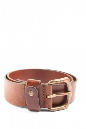 G-Star Raw Leather Belt brown casual look