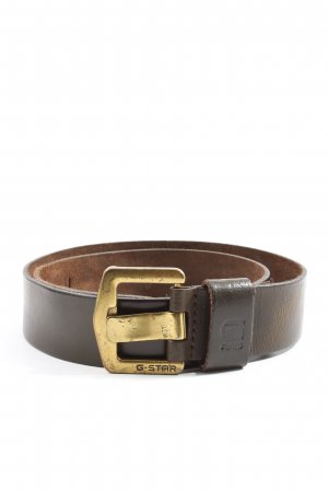 G-Star Raw Cintura di pelle marrone stile casual
