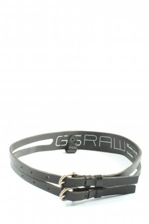 G-Star Raw Leather Belt black casual look