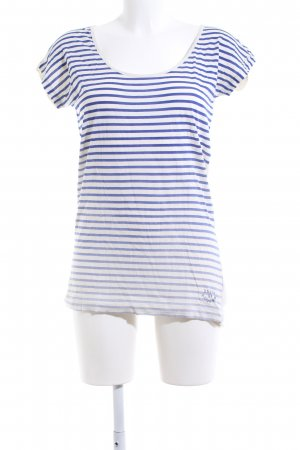 G-Star Raw Longshirt weiß-blau Farbverlauf Casual-Look