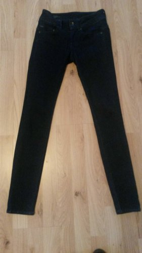 G-Star Raw, Lynn Mid Skinny Dark Denim Jeans, 24/30