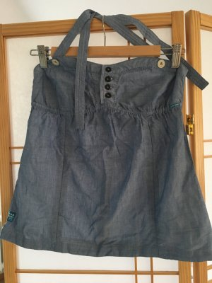 G-Star Raw Bustier Top pale blue cotton