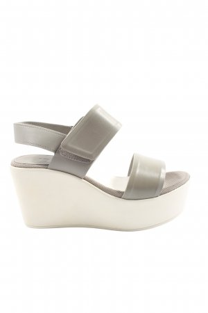 G-Star Raw Platform Sandals light grey casual look