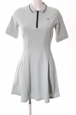 G-Star Raw Vestido tipo polo gris claro look casual