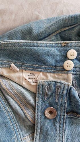 G Star Raw Röhren Jeans Lynn  W27 L34 hell blau