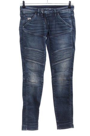 G-Star Raw Jeans cigarette bleu style décontracté