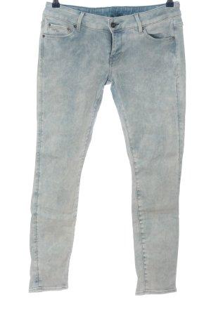 G-Star Raw Jeans a sigaretta blu puntinato stile casual