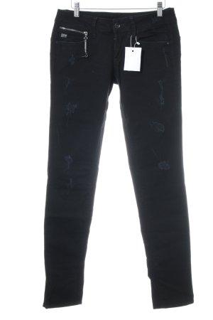 G-Star Raw Röhrenjeans schwarz-dunkelblau Casual-Look