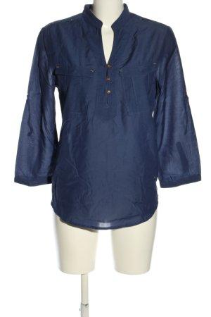 G-Star Raw Schlupf-Bluse blau Casual-Look