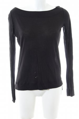G-Star Raw Schlupf-Bluse schwarz Casual-Look