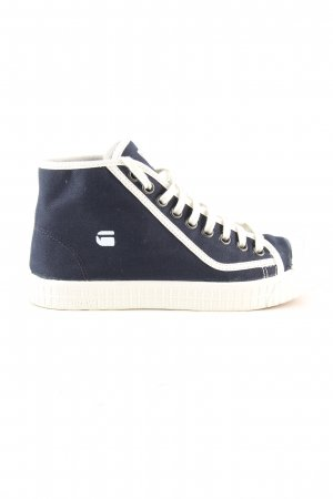 G-Star Raw Schnürsneaker blau Casual-Look