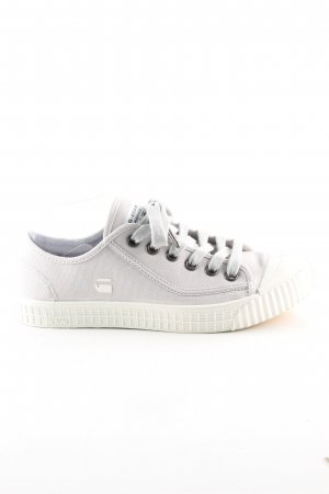 G-Star Raw Schnürsneaker hellgrau Casual-Look