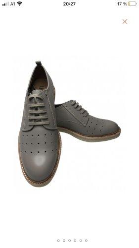 G-Star Raw Budapest schoenen lichtgrijs Leer