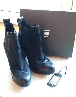 G-Star Raw Wysokie buty na obcasie czarny