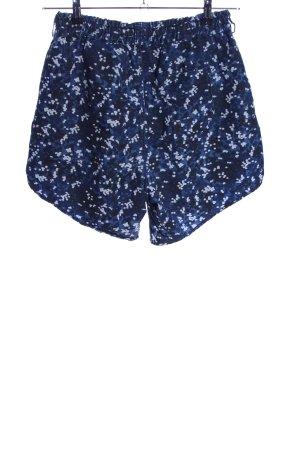 G-Star Raw Shorts blau abstraktes Muster Casual-Look