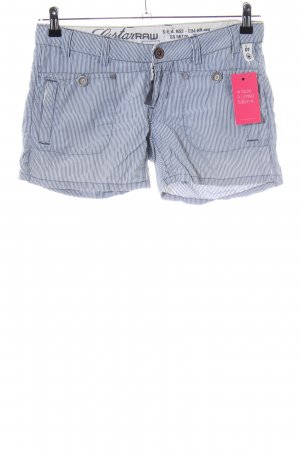 G-Star Raw Shorts blau-weiß Allover-Druck Casual-Look