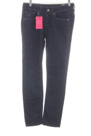 G-Star Raw Skinny Jeans blau Jeans-Optik