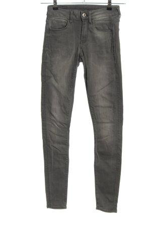 G-Star Raw Skinny Jeans hellgrau Casual-Look