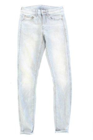 G-Star RAW Skinny Jeans Größe W27/L34 blau aus Baumwolle